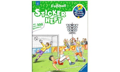 WWW Stickerheft: Fussball
