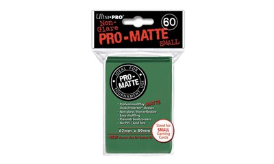 Green PRO-Matte Deck Protector Small (60)