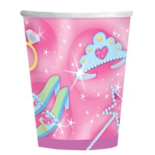 Pricess 8 Becher Prinzessin 270ml