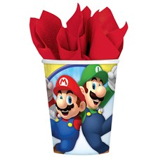 8 Becher Super Mario 266ml