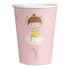 8 Kartonbecher Little Dancer 250ml