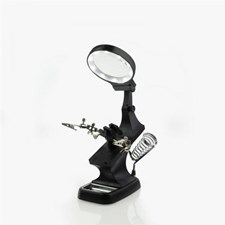Helping Hands & LED Magnifier Workstation