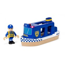 Polizeiboot Light & Sound