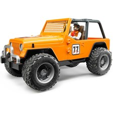 Jeep Cross Country Racer orange mit Rennfahrer