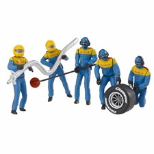 1:32 Mechaniker Team blau