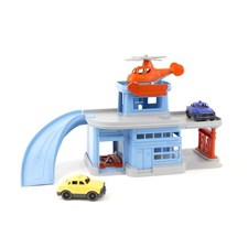 Parking Garage mit Auto & Helikopter