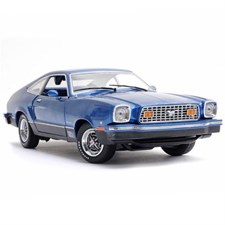Ford Mustang II Mach 1 1976 Blue and Black