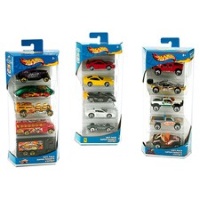 Hot Wheels 5-er Set, 1:64