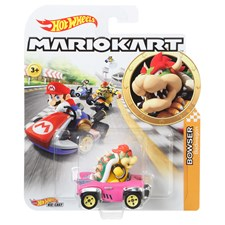 Mario Kart Replica ass. Hot Wheels, Die-Cast, 1:64, ab 3+
