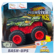 Monster Trucks Bash Ups ass. Hot Wheels, 12x12x8 cm, 1:43, ab 3+