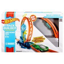 Track Builder Looping-Kicker Set, Unlimited, Hot Wheels, ab 6+
