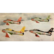 Plastikmodell WWII German Aircraft Weapons 1:48