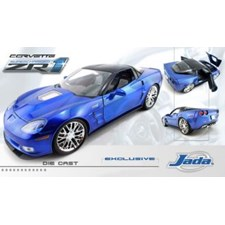 Corvette ZR1 '09 jetstreamblue 1:18