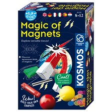 Magnets, d/f/i Fun Science Experimente, mit Anleitung, ab 8+