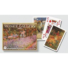 Monet - Gardens, Bridge Spielkarten, WK