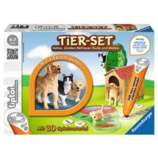 Spiel Tier-Set Golden Retriever