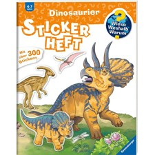 WWW Stickerheft: Dinosaurier - H17
