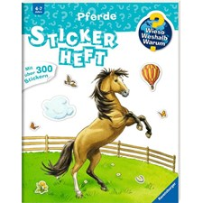 WWW Stickerheft: Pferde - H17