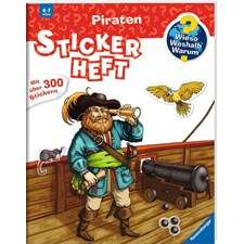 WWW Stickerheft: Piraten