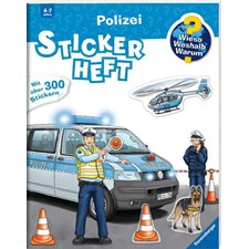 WWW Stickerheft: Polizei