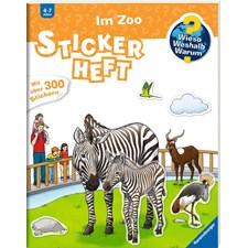 WWW Stickerheft: Im Zoo