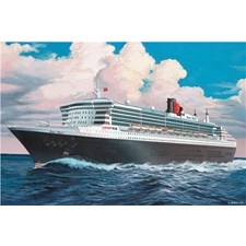 Plastikmodell Kreuzschiff Queen Mary 2