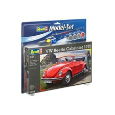 Plastikmodell Cabriolet  VW Beetle Cabrio 1970 Set