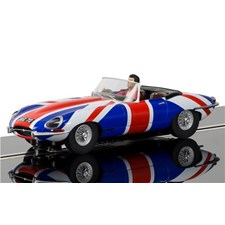 Jaguar E-Type Union Jack