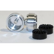 Aluminium 15x8 short hub light wheel