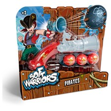 Piraten Kanone Soft Warriors
