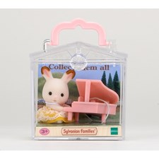 Baby Carry Case (Rabbit with Piano)