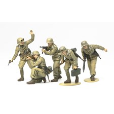 Plastikmodell German Africa Corps Infantry Set