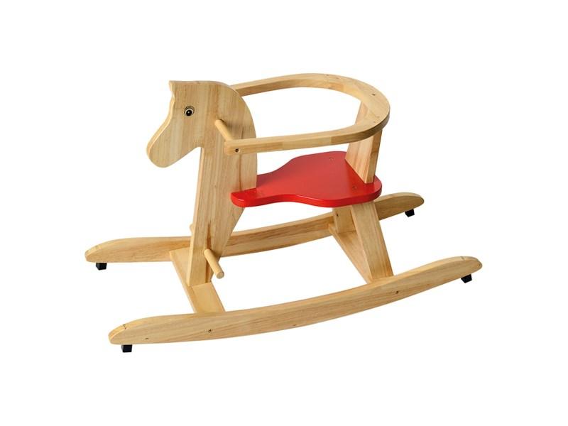 Beluga 70554 Schaukelpferd Holz Natur ~ BELUGA Schaukelpferd Holz natur  Holzspielzeug Shop ch