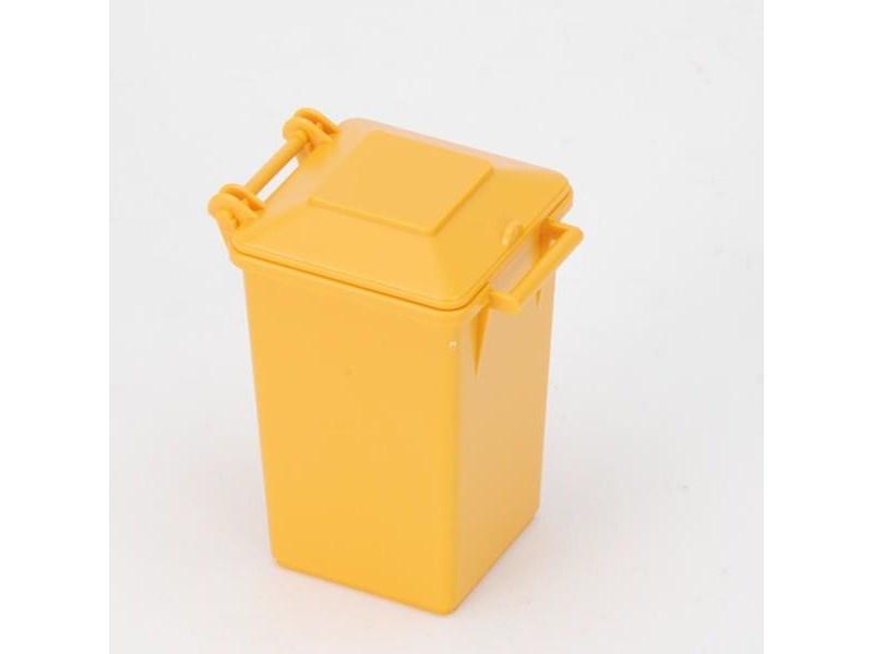 Bruder Spielfahrzeug Zubehör Mülltonne Gelb Spiellandch
