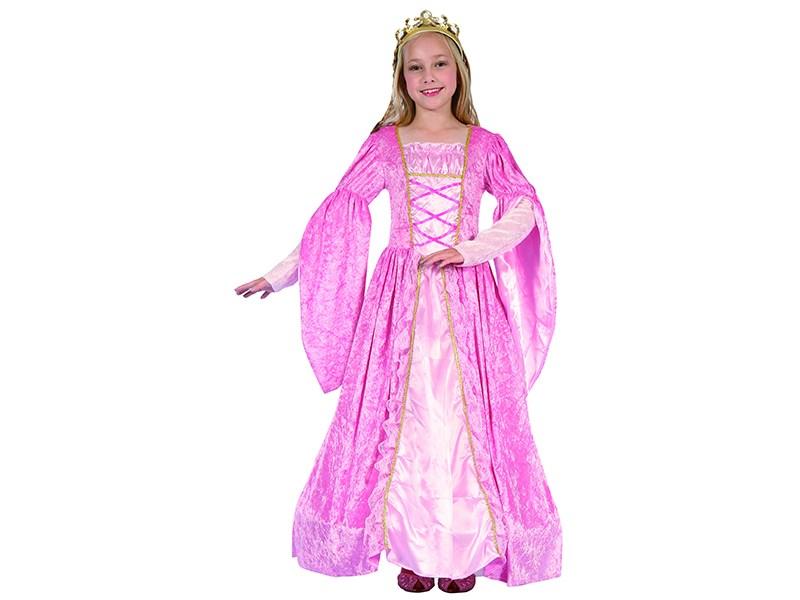 Fasnacht Fasnachtsverkleidung Prinzessin Kleid pink/rosa M ...
