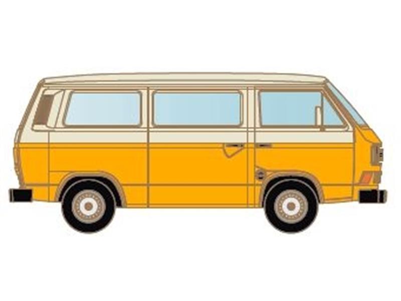 kato hobbytrain modelleisenbahn zubeh r vw t3 orange weiss. Black Bedroom Furniture Sets. Home Design Ideas